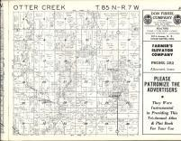 Otter Creek T85N-R7W, Linn County 1963